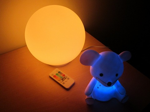 Be safety conscious with child room lights