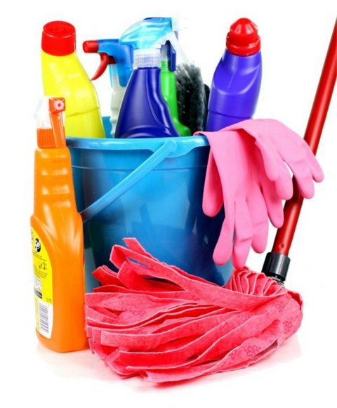 Spring clean up your home