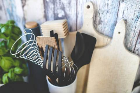 Cooking utensils for the kitchen