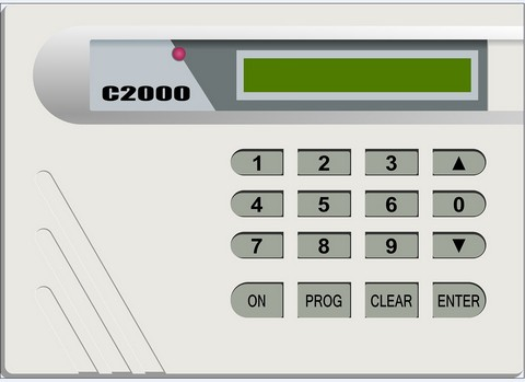 Digital keypad system