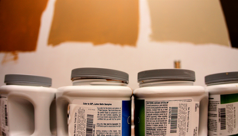 Improve your home with a new paint