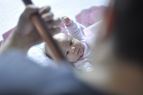 Caring for newborn can cause lack of intimacy