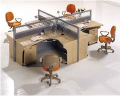 Modern-look office furniture